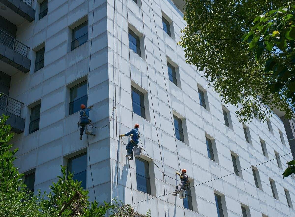 泗洪及时的宾馆保洁服务-美淮物业