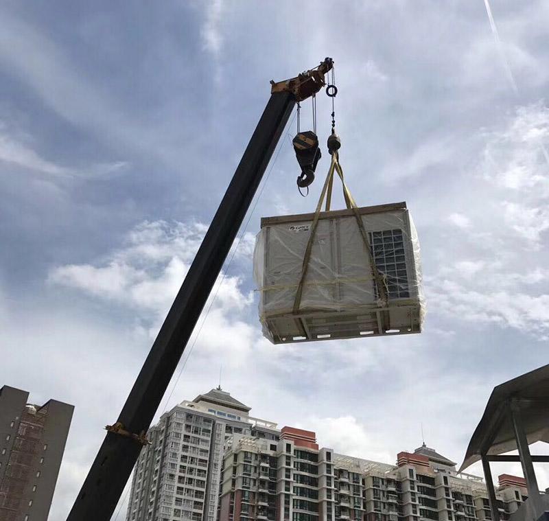 秦淮区专业吊机出租厂家-南京中鑫吊装