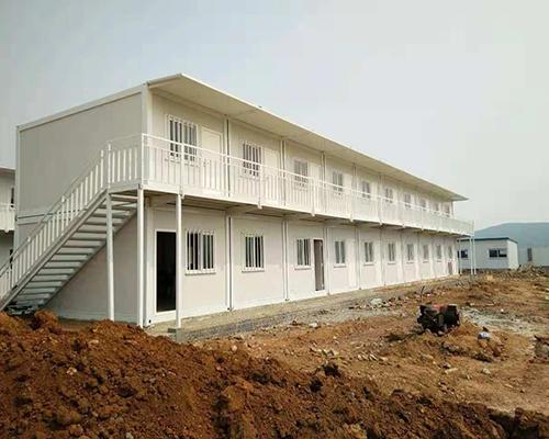 豪华移动快拼箱房材料-众之鑫钢结构