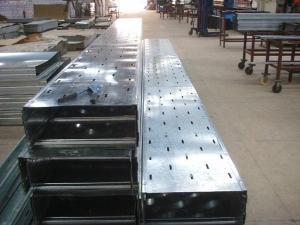 天津堅固耐用鍍鋅槽式橋架生產廠家-嘉盛龍骨