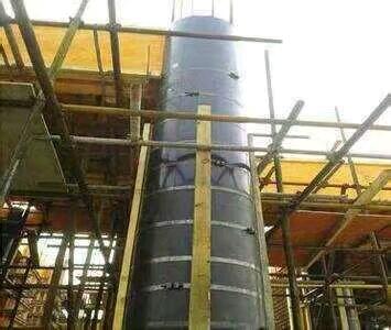 广西清水塑料圆柱模板安装