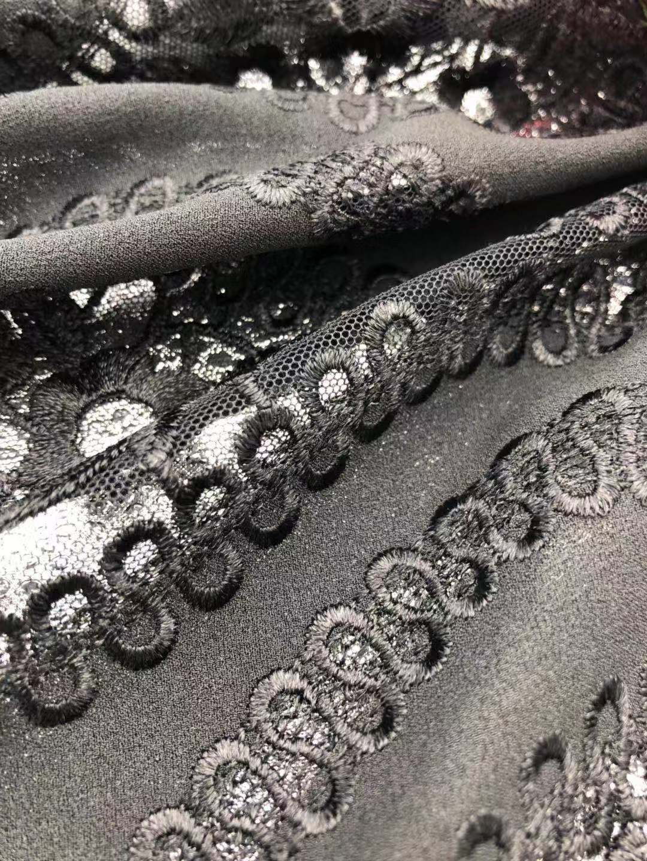绍兴质量好的人造棉绣花面料多少钱-星宇刺绣