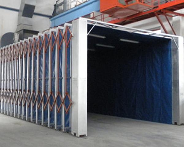 蘇州伸縮噴漆房多少錢-濟圖環保科技