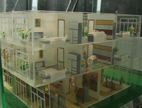 日照厂区沙盘模型定制-艺景模型