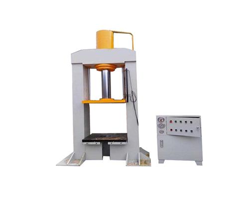 山东品牌中型四柱液压机价格-联创液压机械