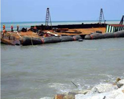 滄州推薦船用氣囊公司-黃海氣囊護舷制造
