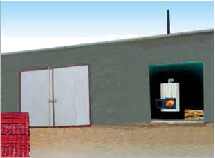 陕西生物质热风炉-宏宝机械