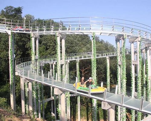 海南園林玻璃滑漂仿生工藝-洛陽創通棧道公司