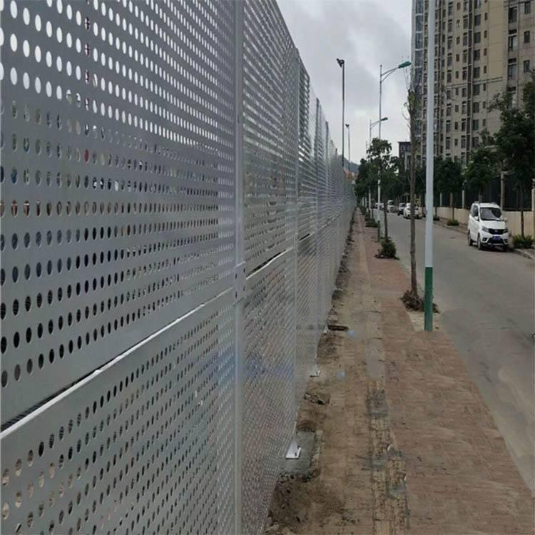 广州建筑施工穿孔板围挡怎么用-珠海市永安居