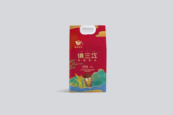 哈尔滨美味5kg大米-建三江鑫荣水稻