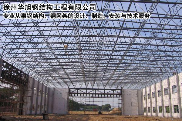 嘉兴专业加油站钢结构网架-华旭网架
