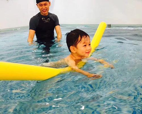 南岸游泳教學圖片