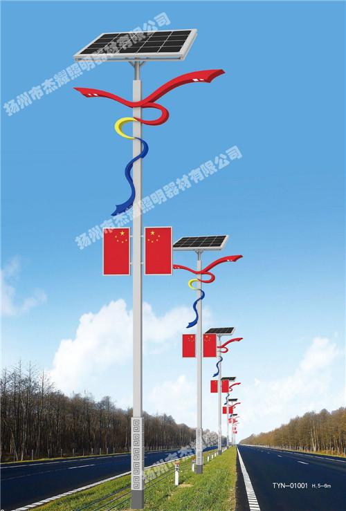 湖北安装太阳能道路灯价位图片