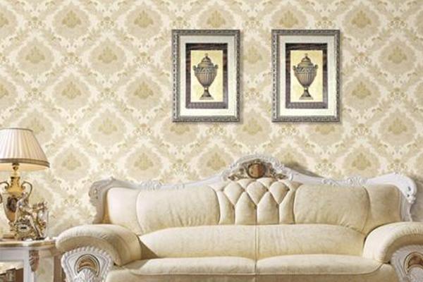 双城沙发背景墙壁纸价格
