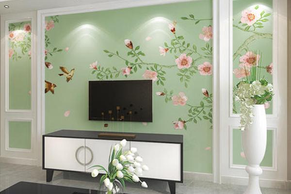辽宁客厅壁画经销图片