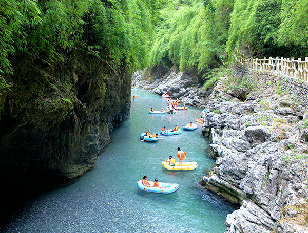 贵州碧水峡漂流排名