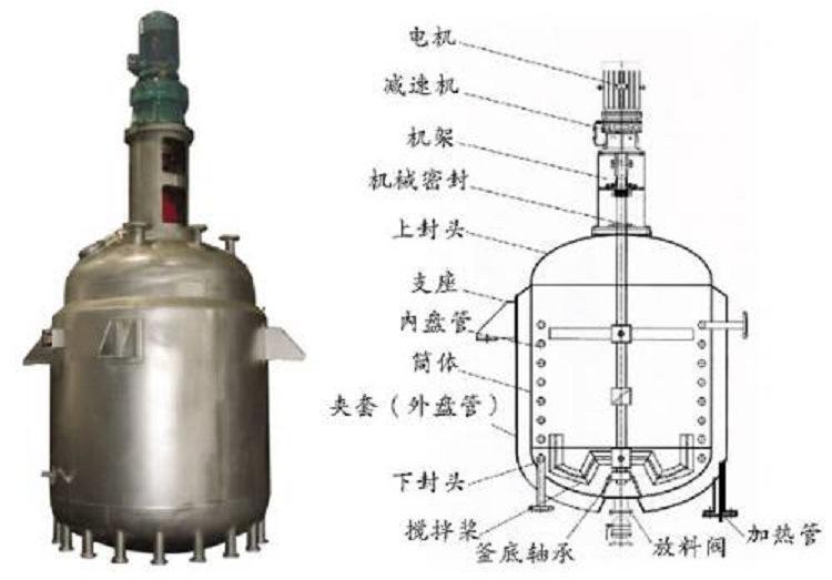 20立方不銹鋼蒸汽反應釜公司-雪浪化工