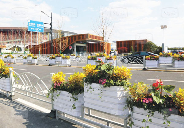 安徽比較好的道路花箱批發-九竹新材料科技