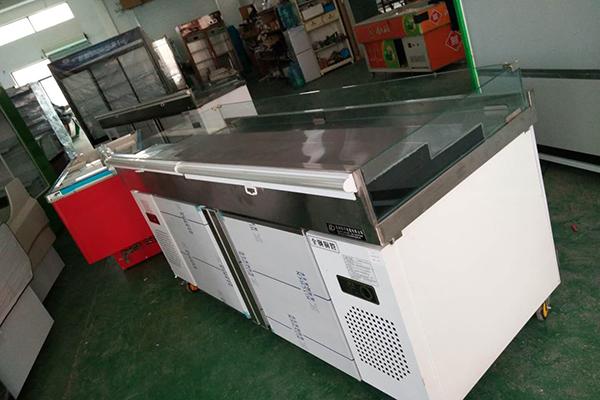 金華海鮮柜批發-杭州懷宇智能科技(雪頂商用冷柜)