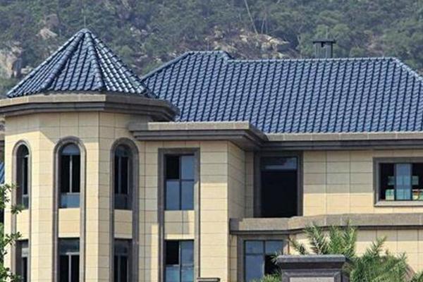 瓦v别墅前要考虑的别墅:虽然在城市,我们通常看到的问题大多是平屋顶屋顶外国语海淀学校图片