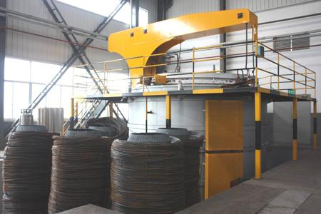 網帶式滲碳淬火爐工廠-長興申力環保設備