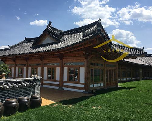 水族民族木房子风景