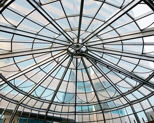 桦甸专业的遮阳棚设计-锦程金属结构装饰