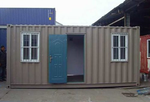 蘭州附近的集裝箱活動房廠-大通鑫源焊接加工部