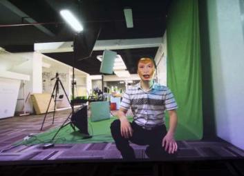 濟南虛擬解說員設計制作-元創視覺