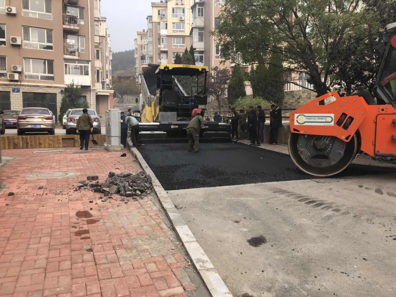 大连专业沥青摊铺推荐-盛元市政工程建设