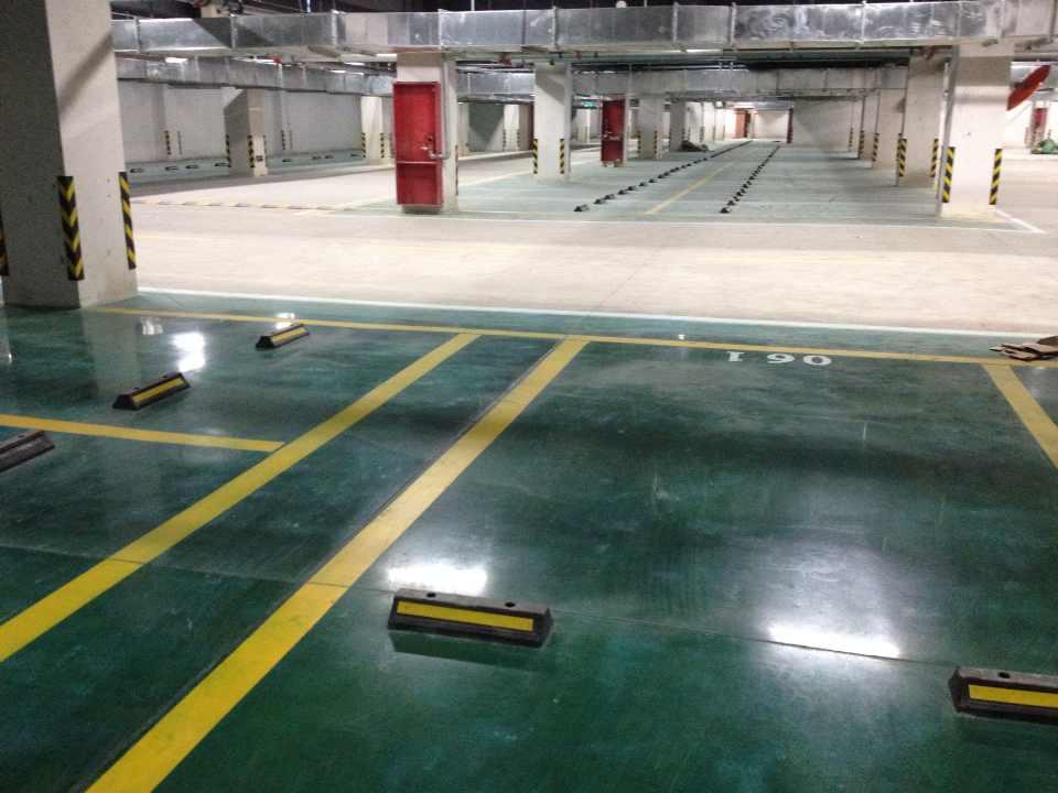 合肥停車場聚氨酯地坪-升輝裝飾