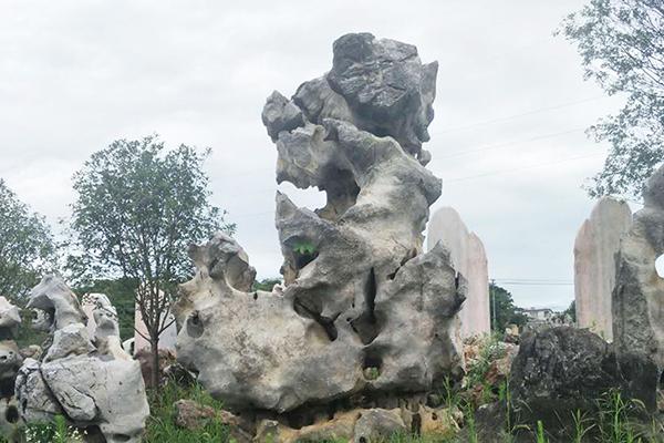 河北天然風景園林石設計