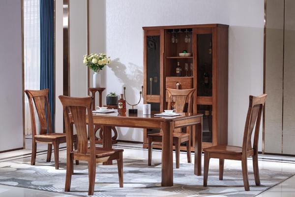 济南优质现代中式实木家具价格图片