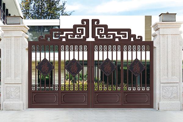 庭院设计效果图门楼