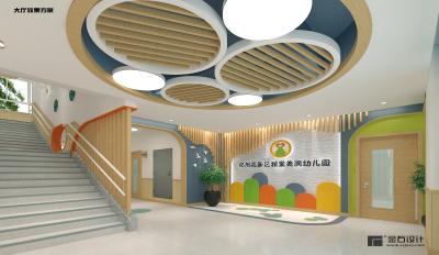 西安小区配套幼儿园小班设计装修多少钱