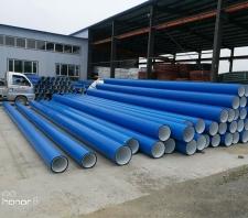 方正聚乙烯双平壁钢带增强排水管价格