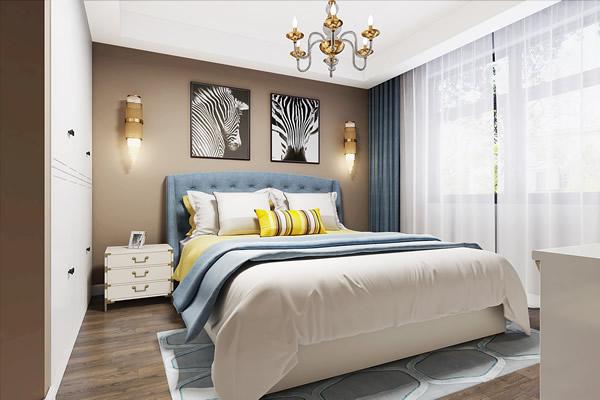 背景墙 床 房间 家居 家具 起居室 设计 卧室 卧室装修 现代 装修 600