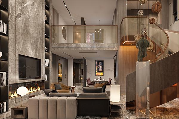 鹤岗流行大平层设计中心