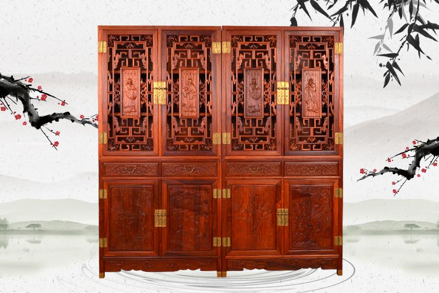 锦州贵的老挝酸枝梳妆台
