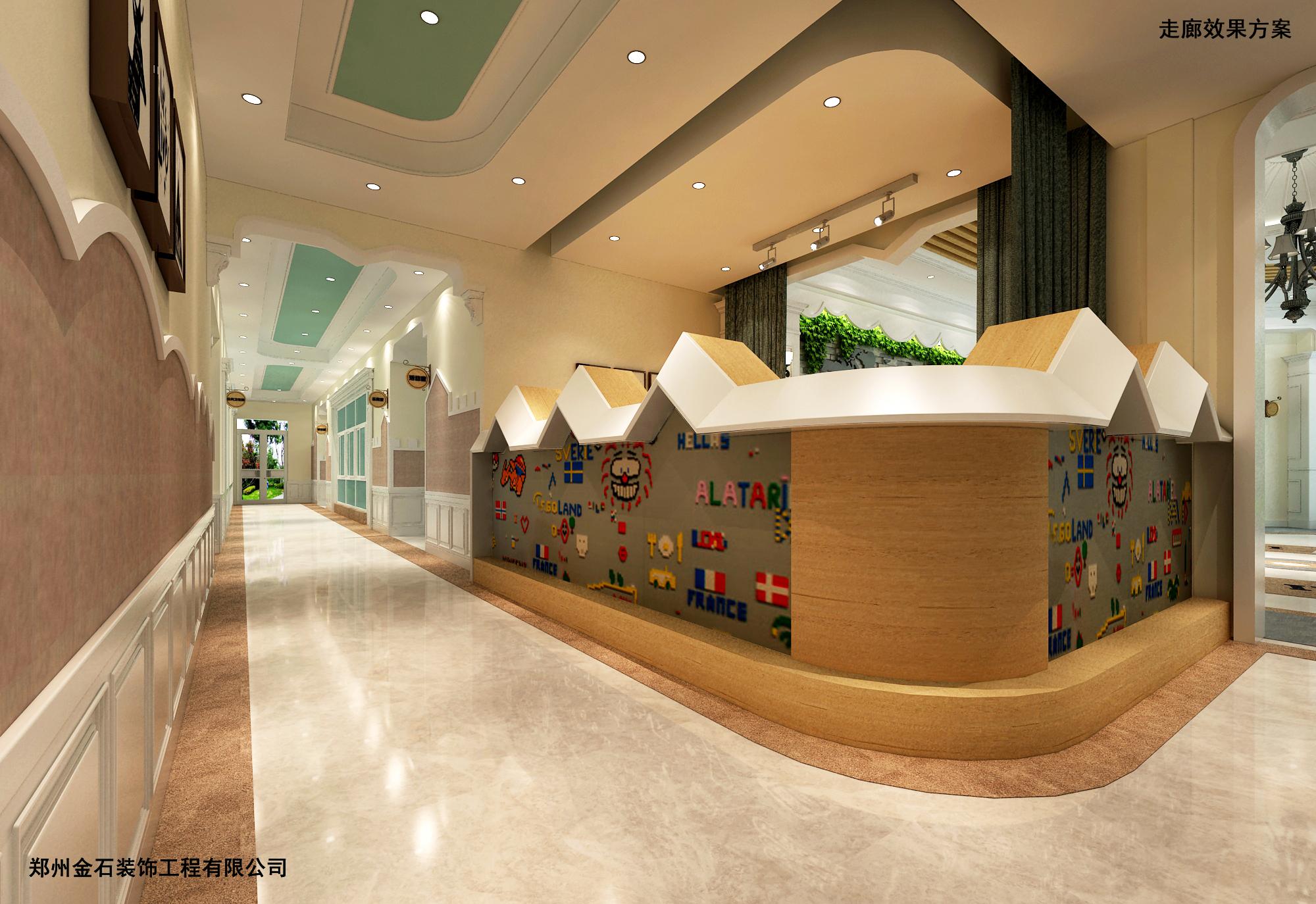 合肥欧式幼儿园室外设计装修