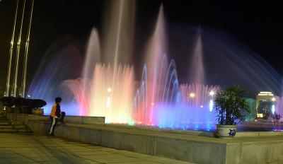 福清聲控噴泉設計
