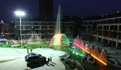 成都景區音樂噴泉設計