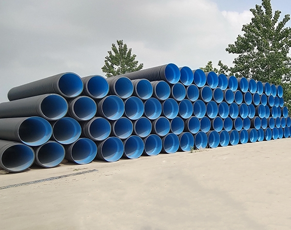 东营双壁排水波纹管生产