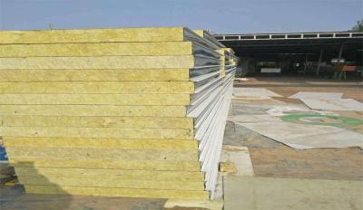 汉中防火彩钢岩棉板规格