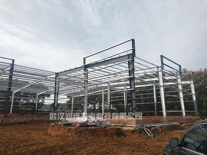 漢南育苗養殖溫室大棚設計