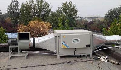 金華低空排放油煙凈化器生產廠