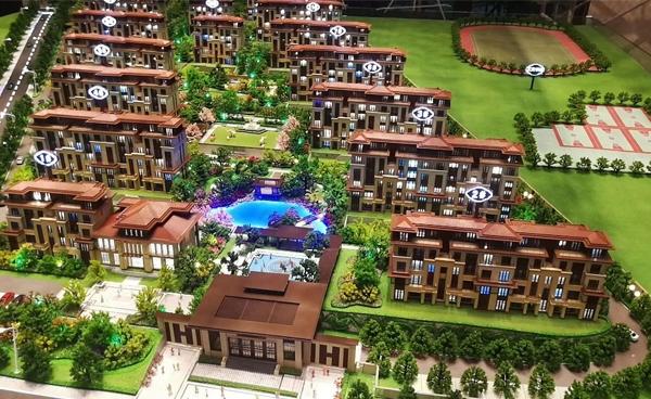 臨沂商業建筑模型施工