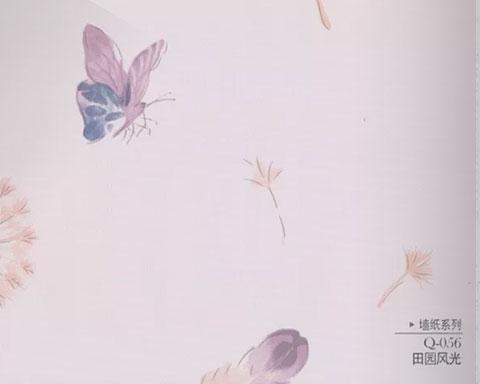 崇義布紋墻紙裝飾電話