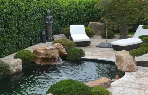 黃梅噴泉景觀設計一體化服務