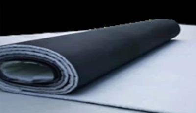 新鎮難燃型改性聚乙烯復合卷材加工